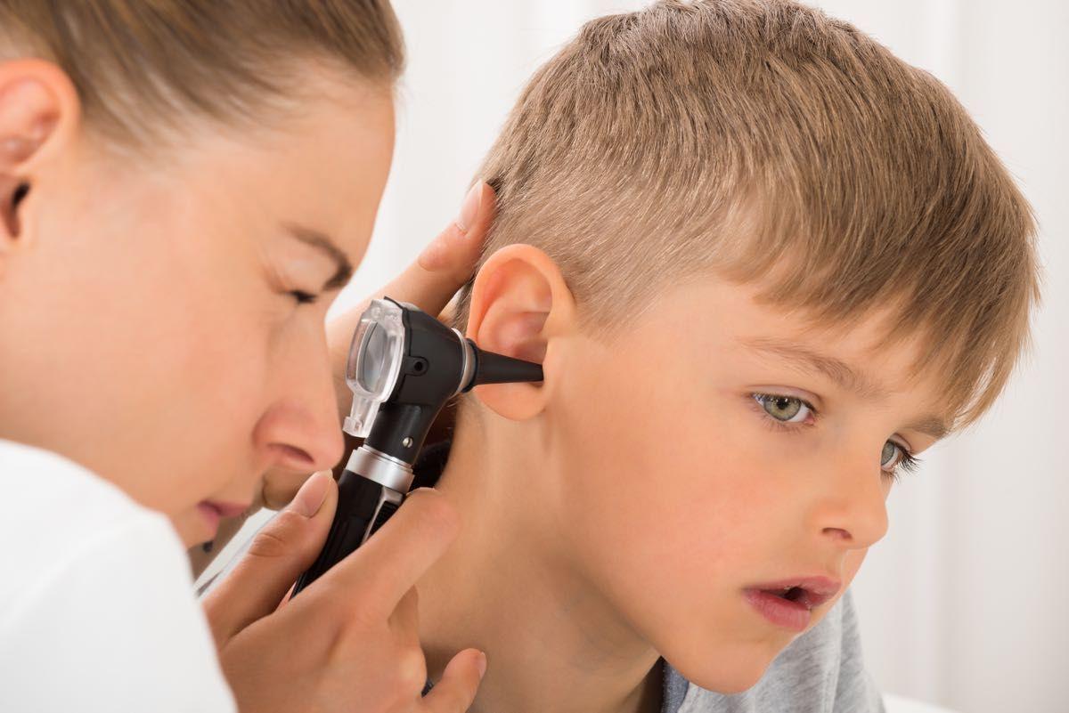 Otite nei bambini, sintomi e diagnosi