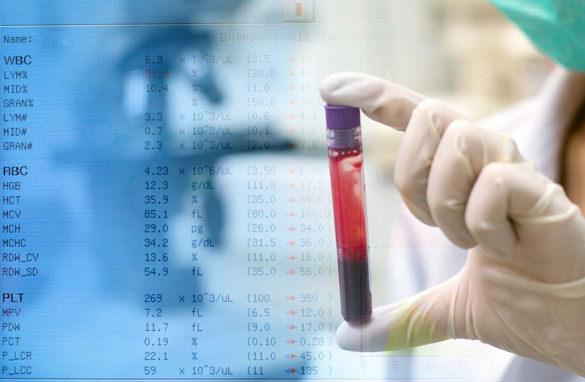 valori normali di emoglobina
