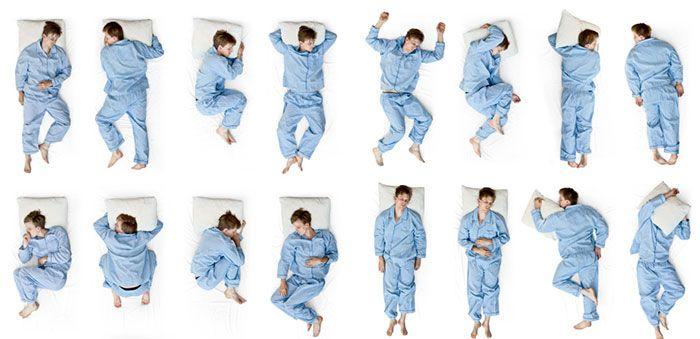 Posizione supina: la migliore per dormire bene!