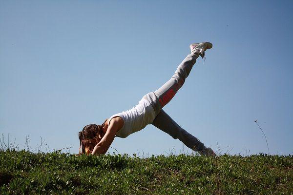 pilates per dimagrire le gambe