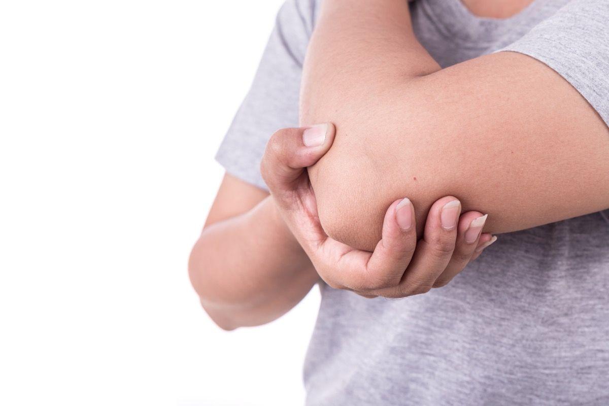 tunnel carpale braccio sinistro