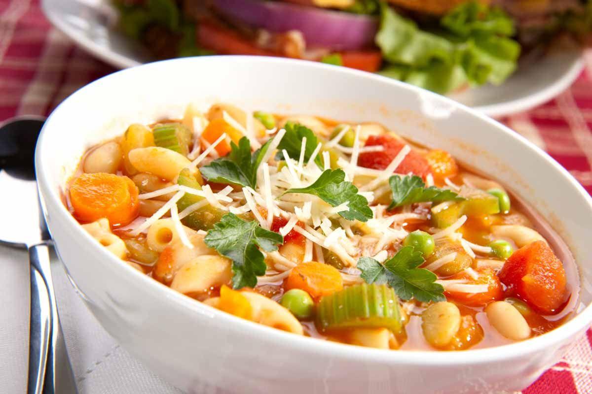 Aspetti nutrizionali della dieta del minestrone