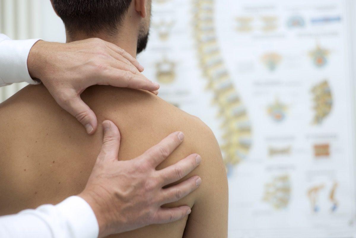 Calcificazione alla spalla