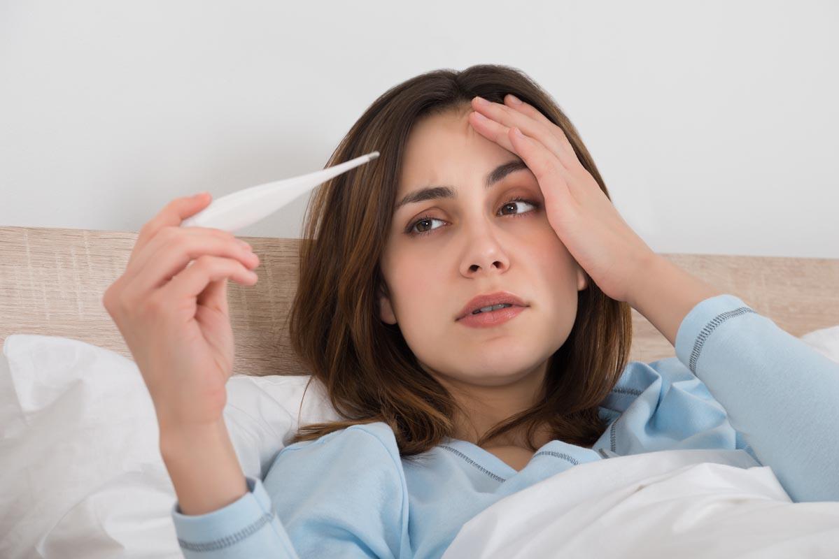 Come far passare la febbre alimentazione