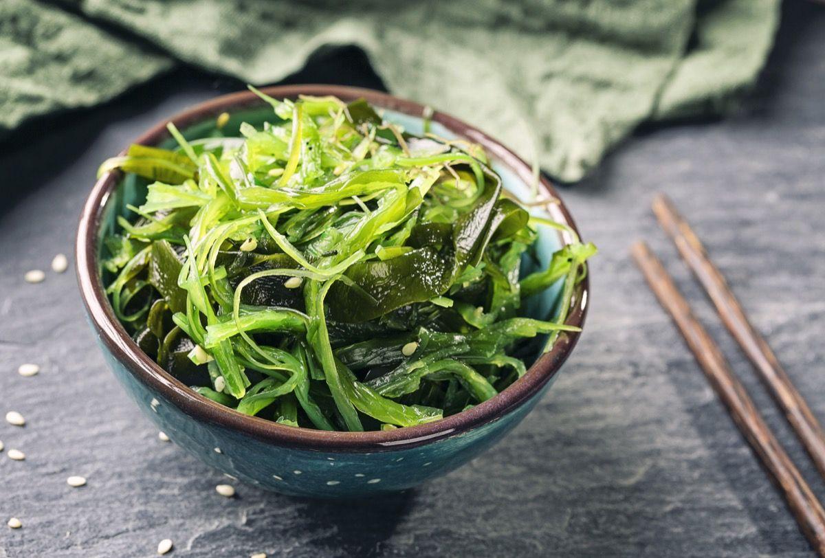 Alga Wakame in cucina