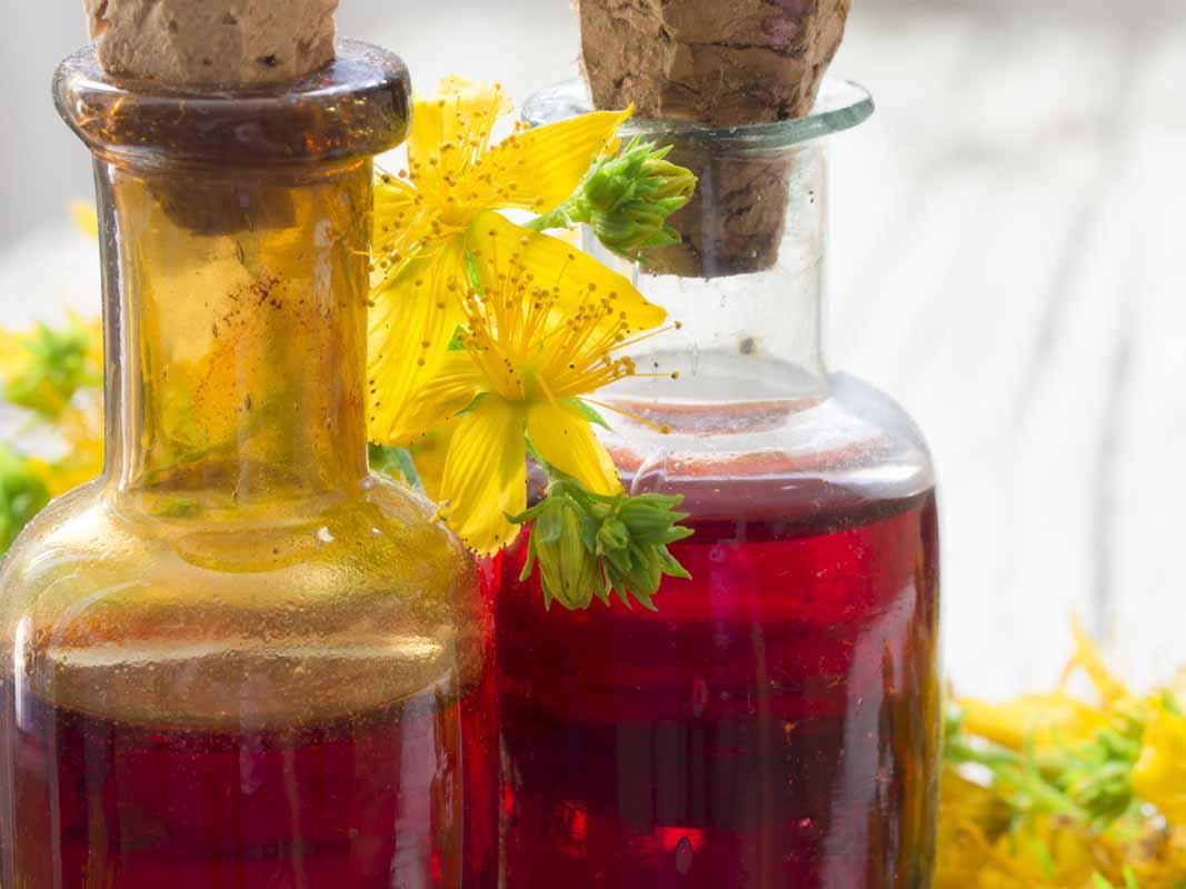 Benefici dell'olio di iperico