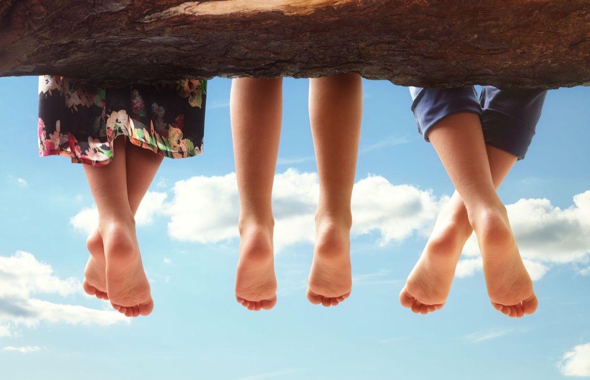 dita dei piedi