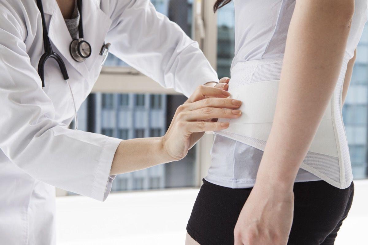Come curare l'ernia discale