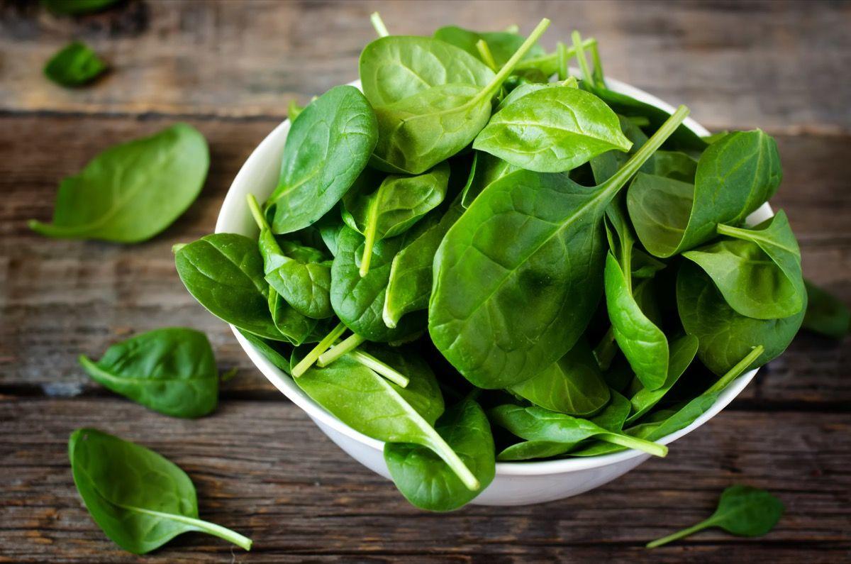 Acido ossalico e spinaci