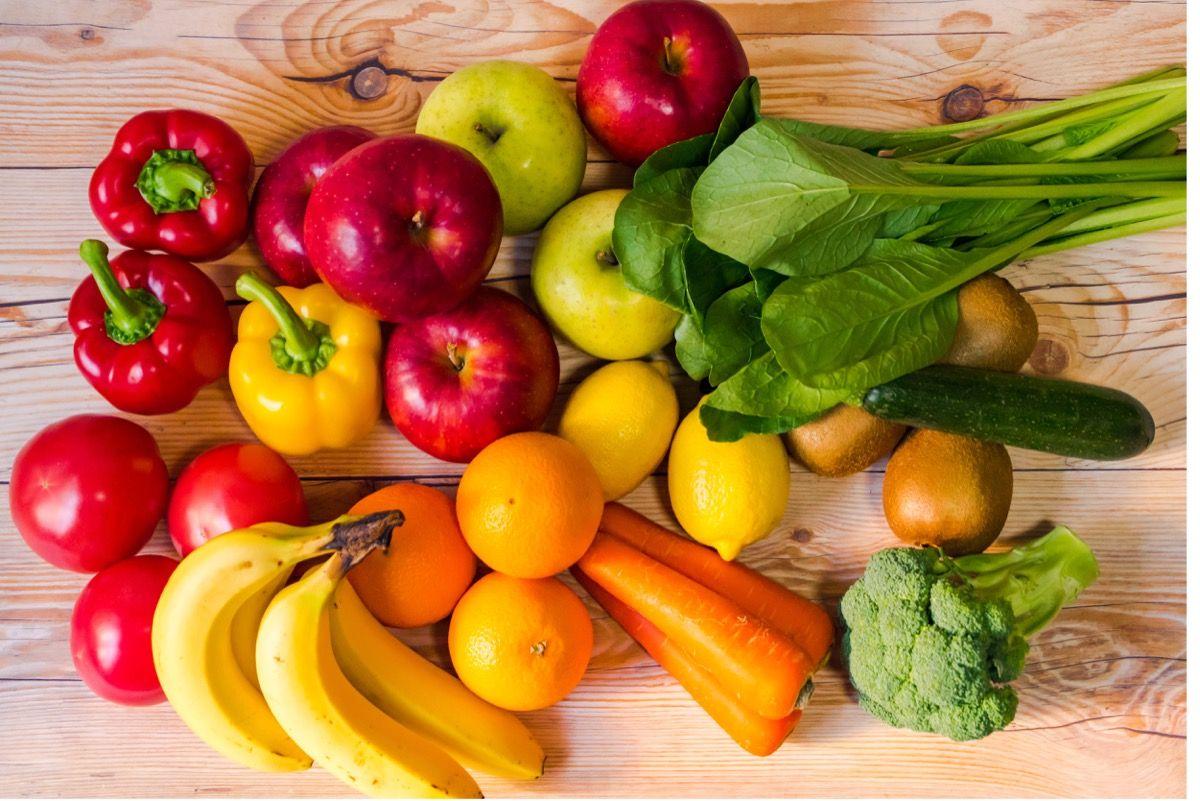 Frutta, verdura e cereali