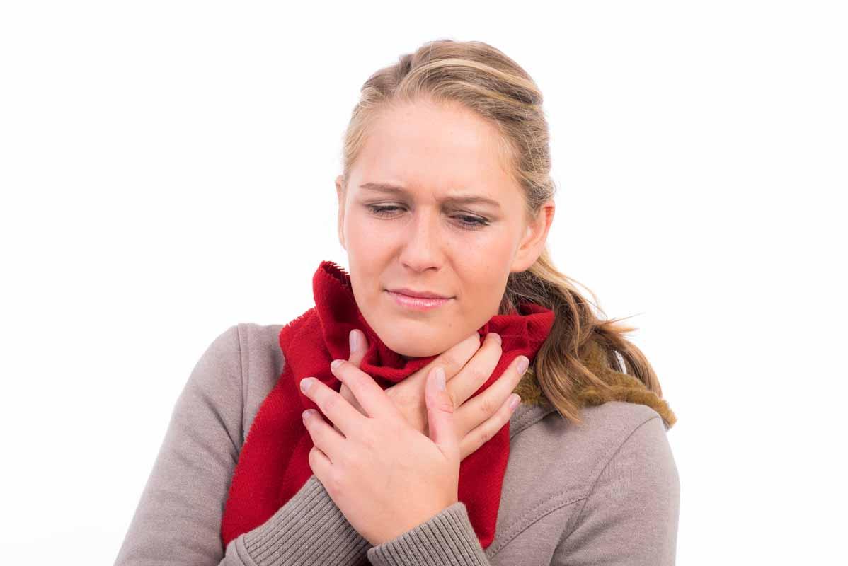 Il mal di gola e gli oli essenziali.