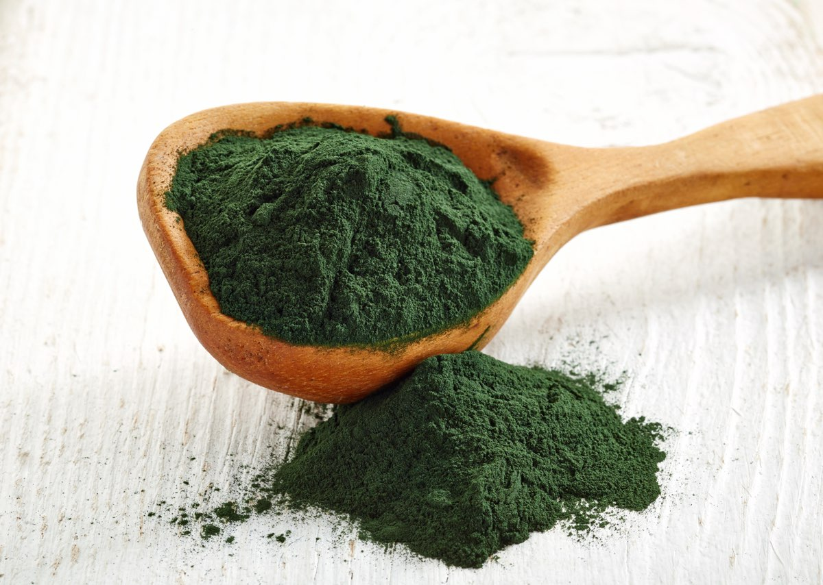 Alga spirulina usata anche per capelli