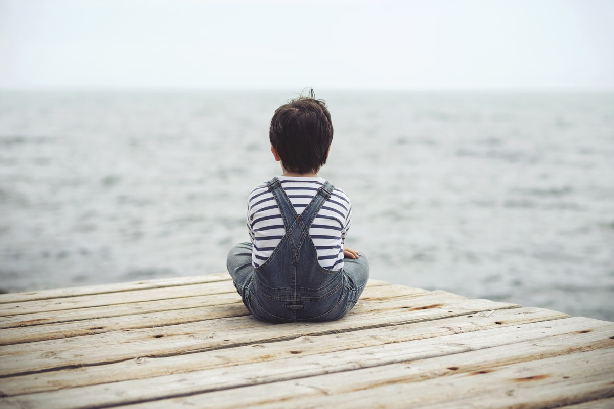Congiuntivite nei bambini al mare