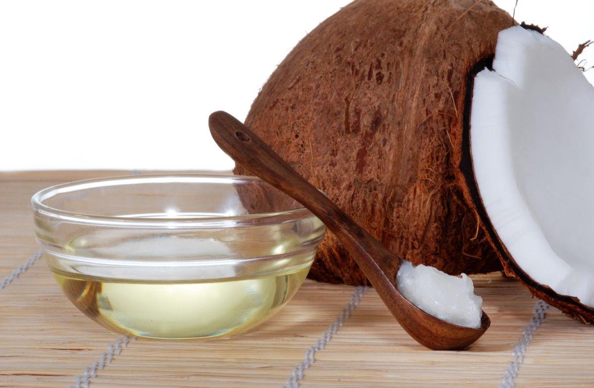 Uso alimentare dell'olio di cocco