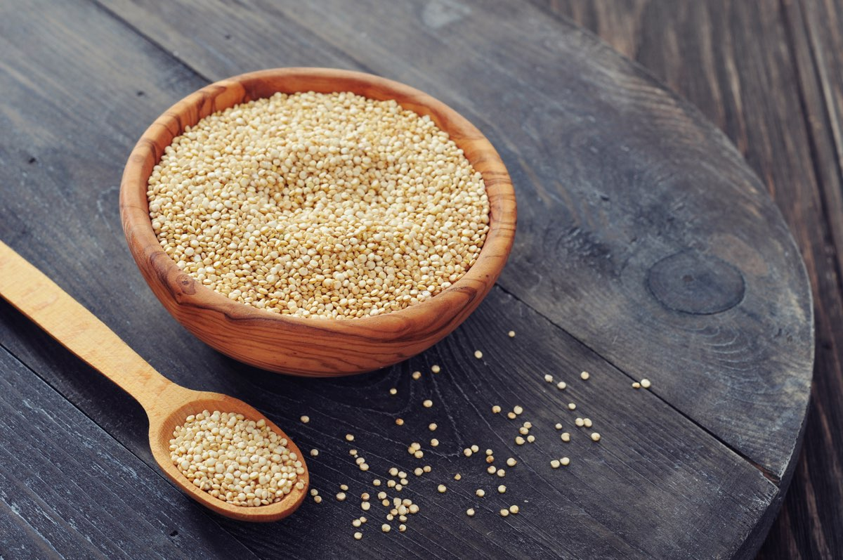 5 proprietà benefiche della quinoa