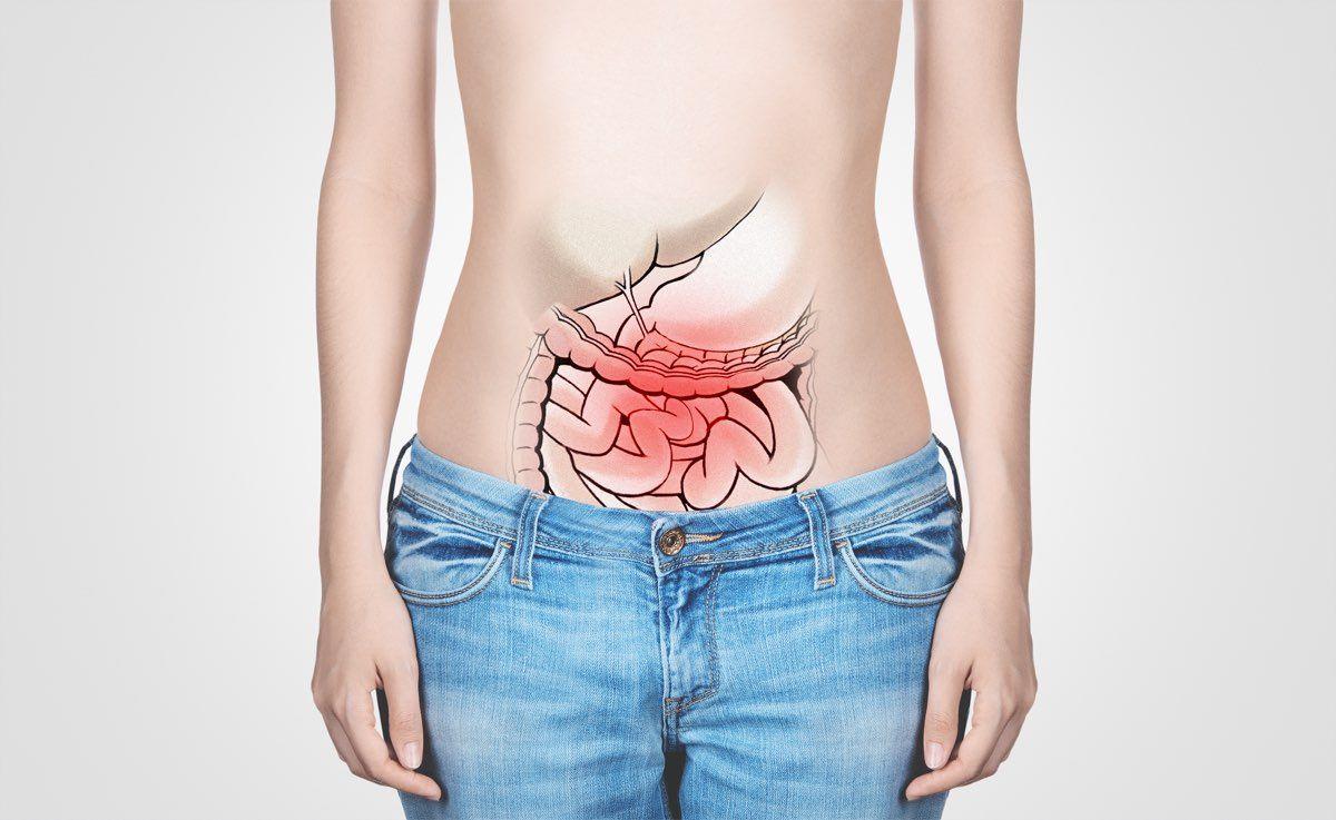 Organi addome arrossati dolore pancia e Citrosodina
