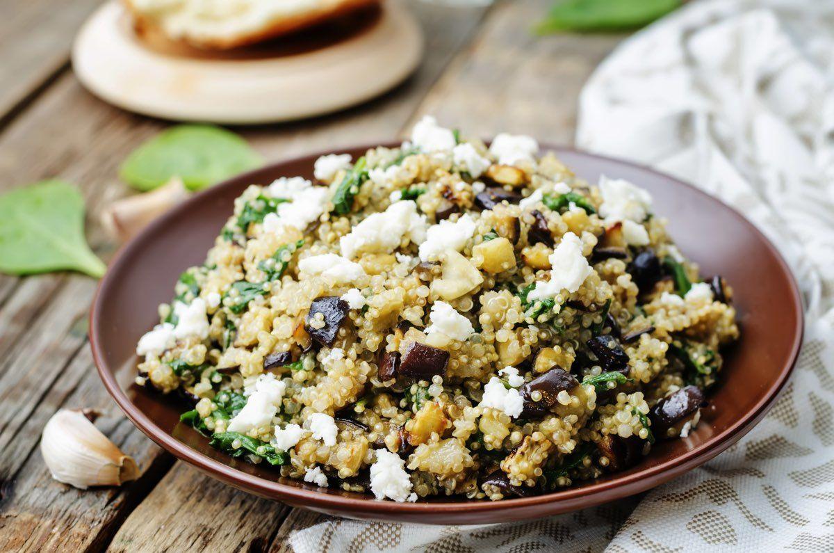 quinoa e melenzane