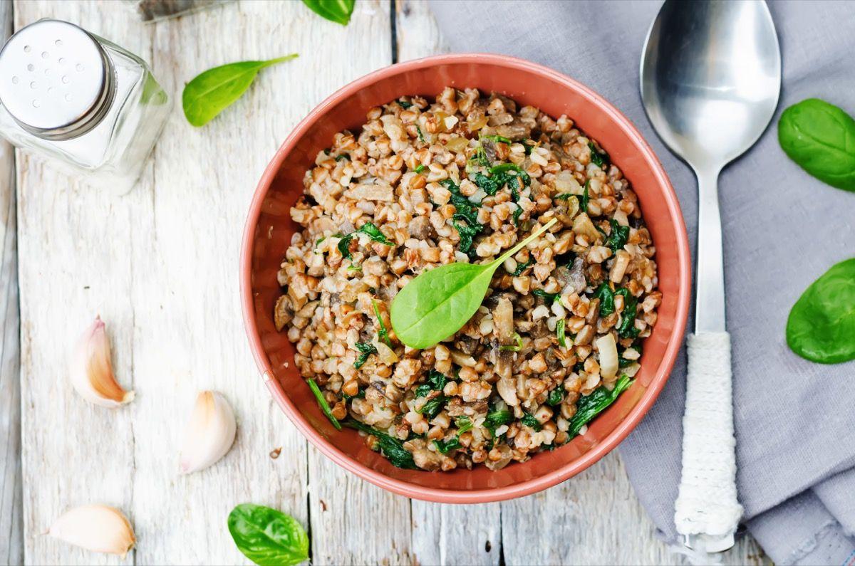 Elementi nutrizionali del grano saraceno
