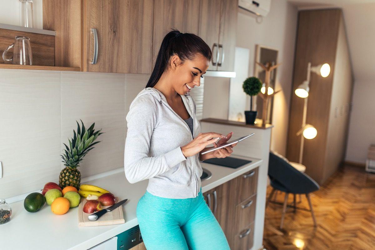 monitorare il consumo giornaliero di cibo
