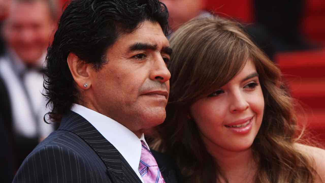 Maradona Dalma shock audio Luque