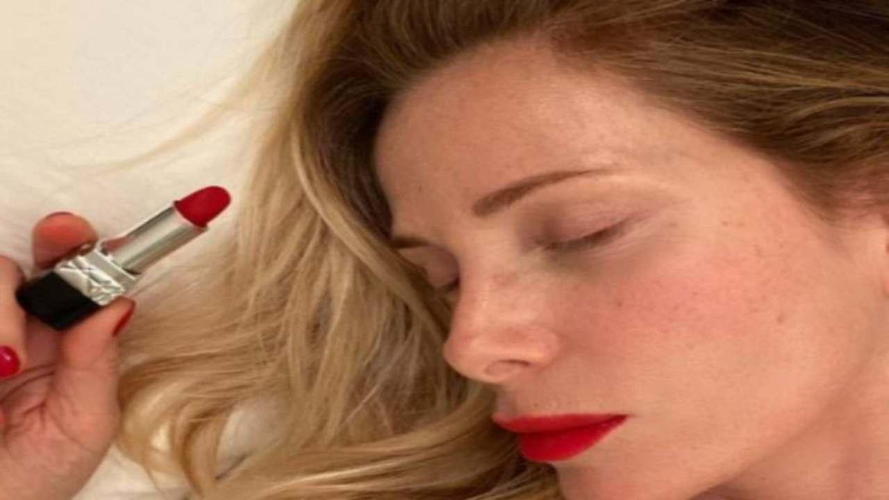 Alessia Marcuzzi rossetto