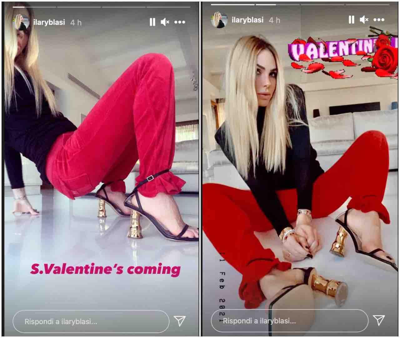 Ilary Blasi San Valentino