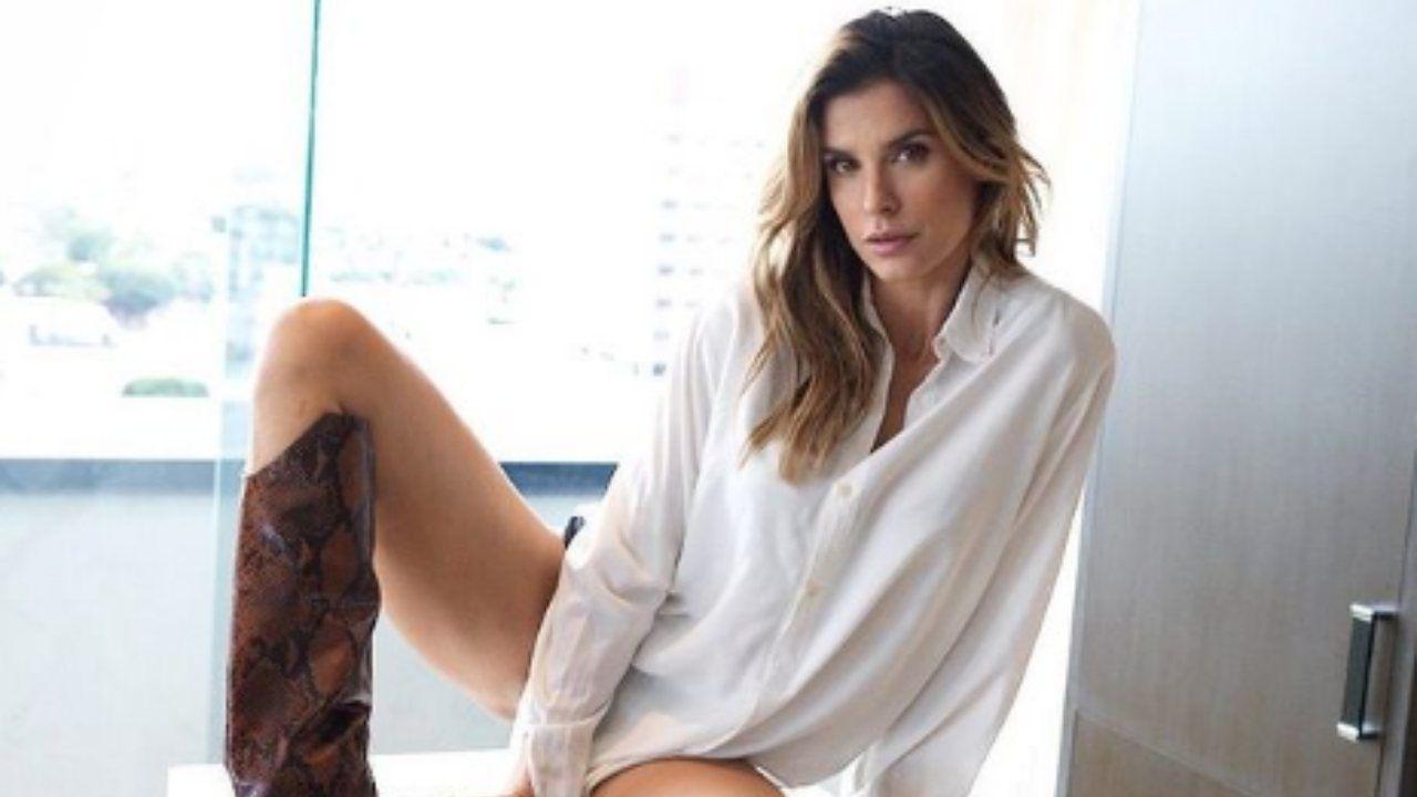 Elisabetta Canalis bomba sexy intimo trasparente