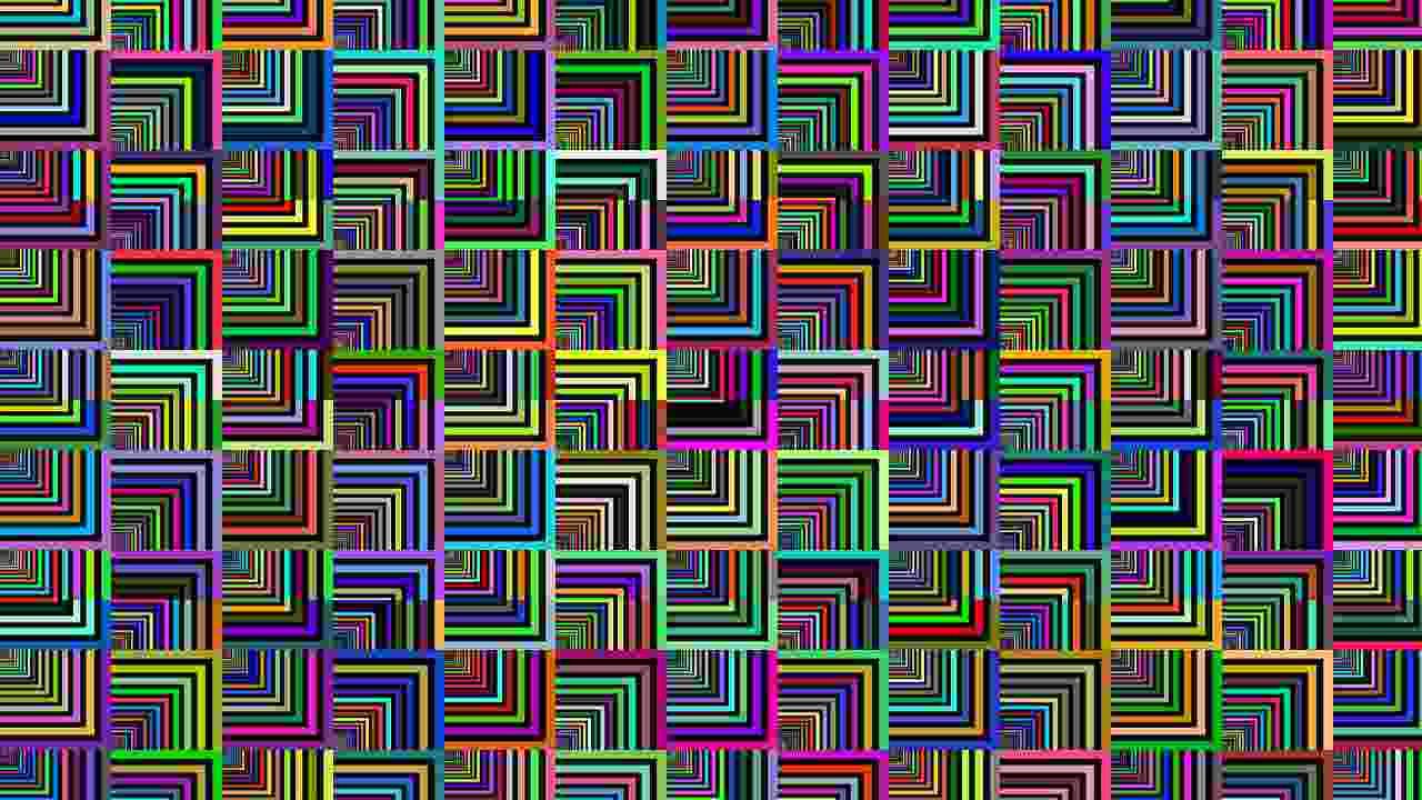 illusioni ottiche test visivo cuore