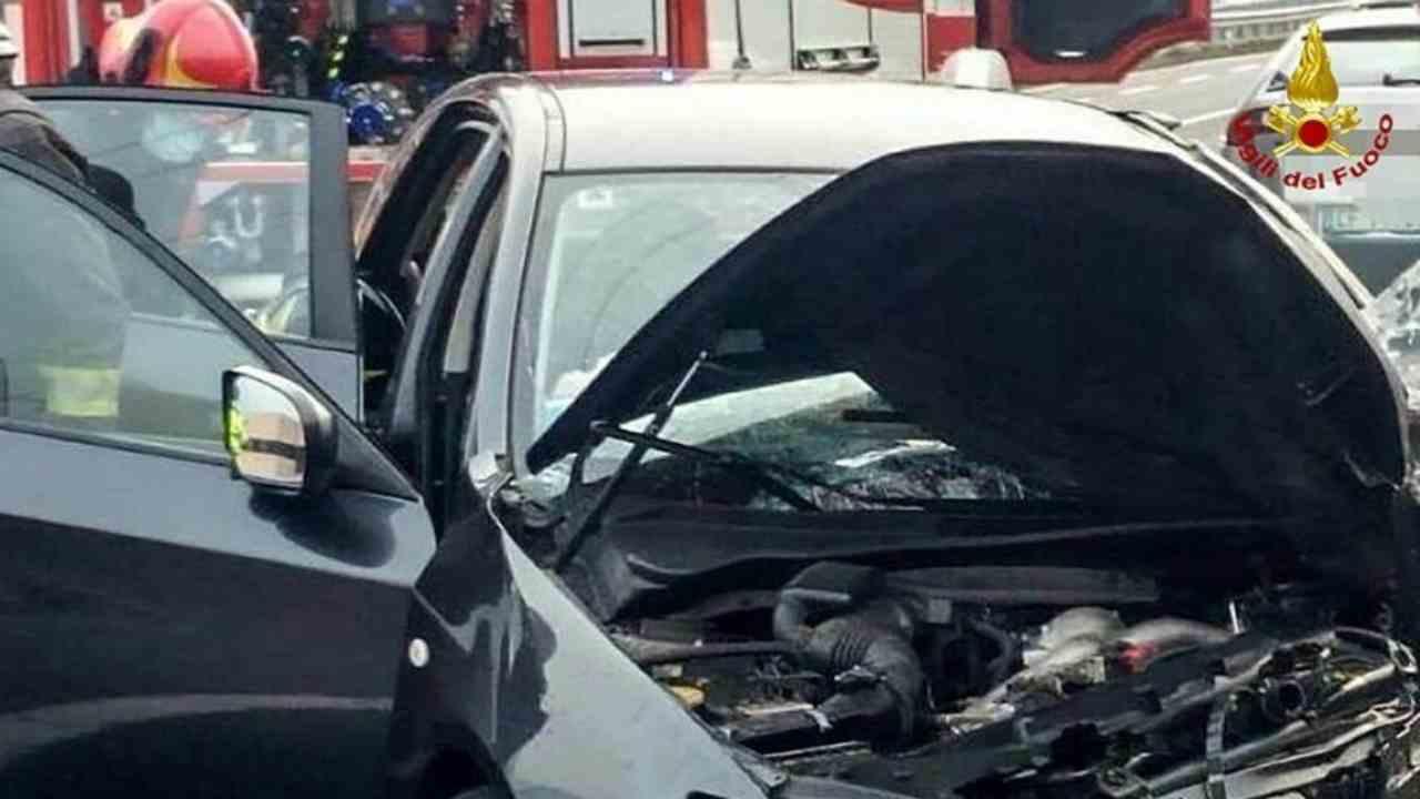 incidente stradale Brescia