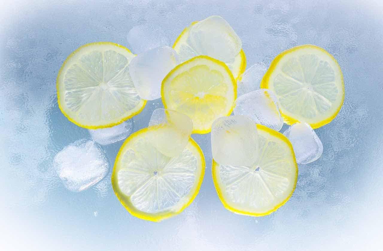 fettine limone ghiaccio