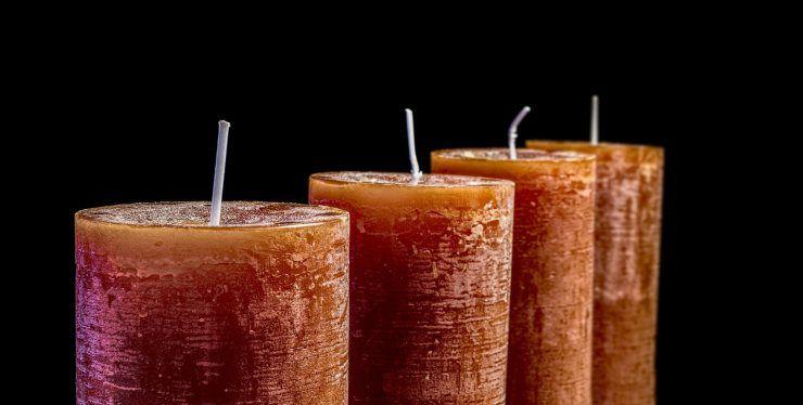 riciclare le candele usate