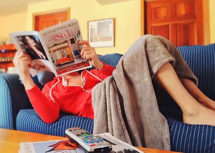 leggere divano