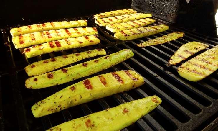 zucchine sulla griglia