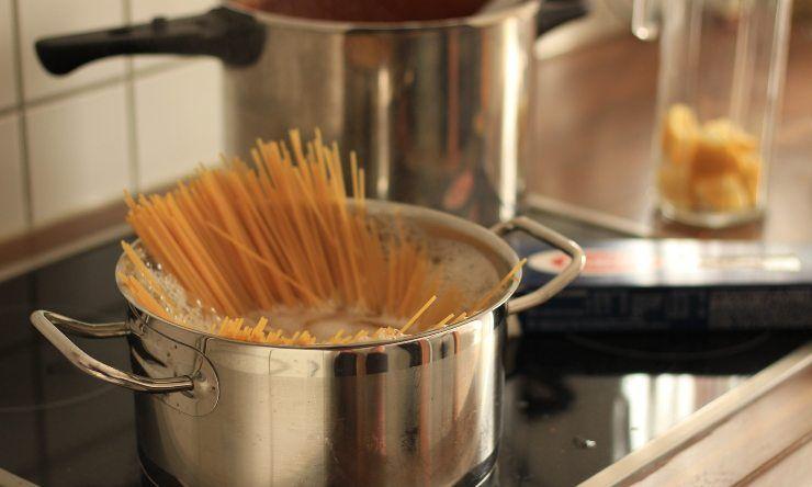 pasta in acqua di cottura