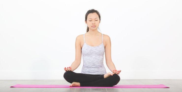yoga per ansia