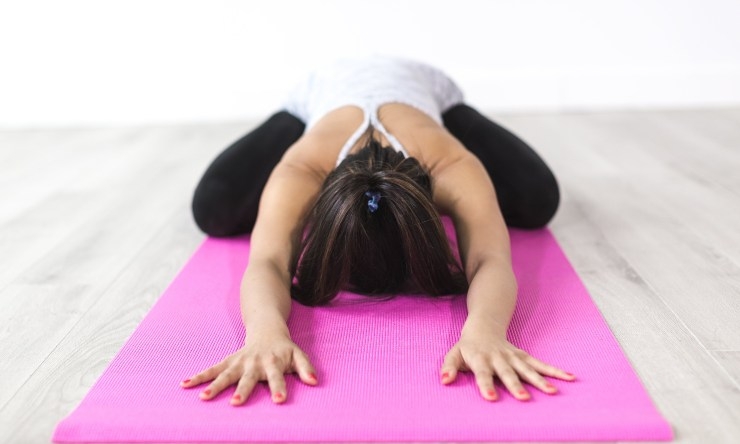 posizione dello yoga