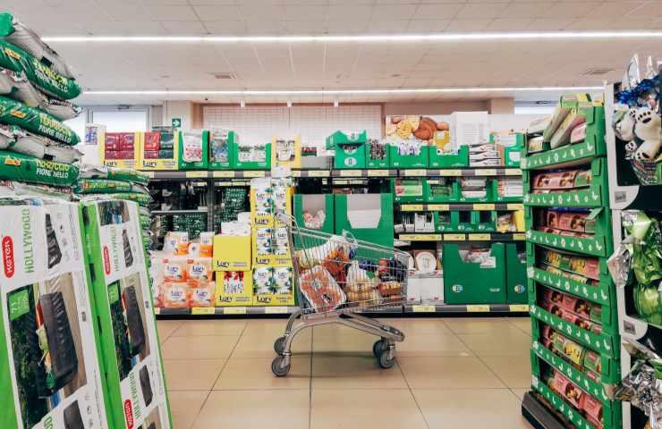 Coronavirus contagio supermercato