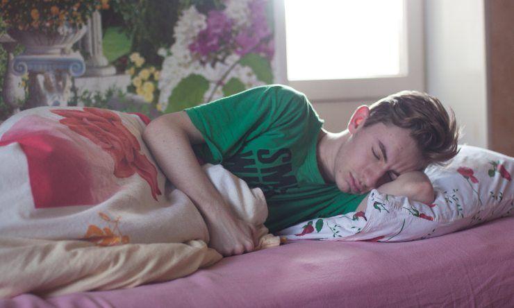 adolescente dorme