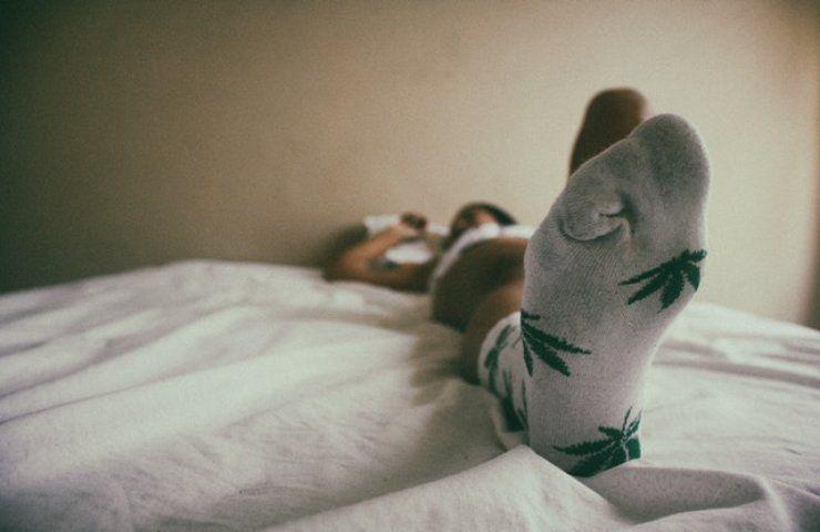 calzini per dormire