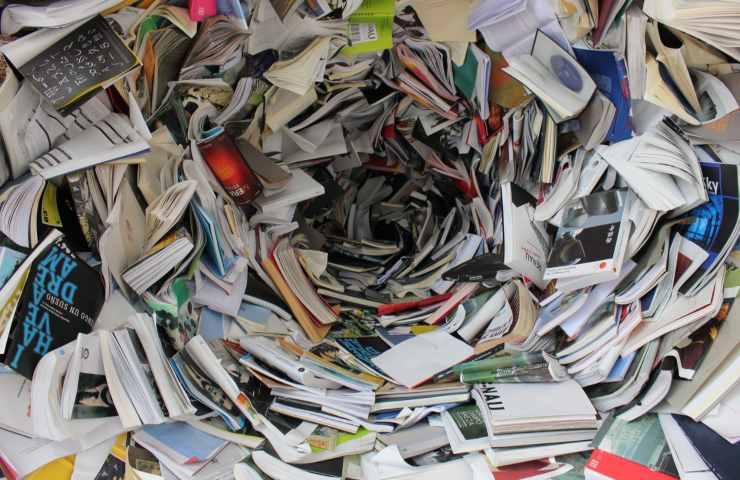 carta come riciclarla in casa
