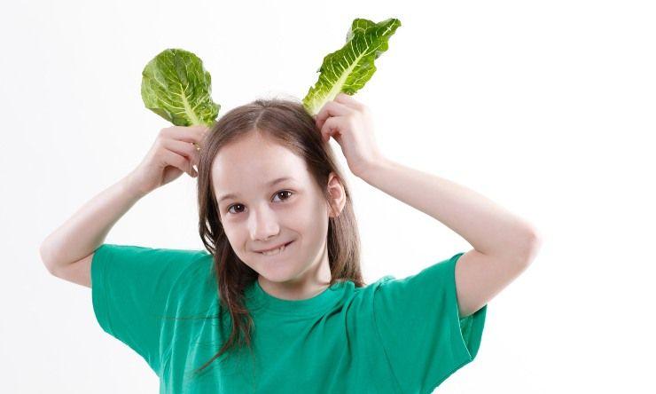 giocare con verdura