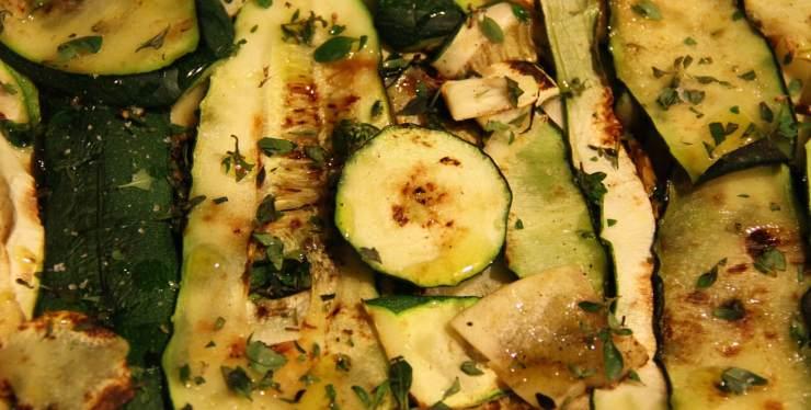 zucchine grigliate trucchi