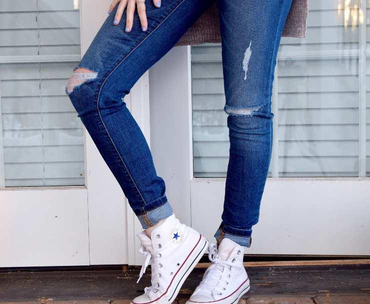 congelare jeans