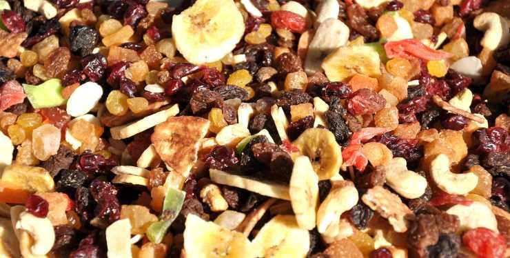frutta secca per diabetici