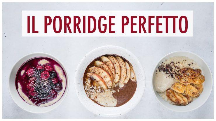 porridge inglese colazione ricetta vegana