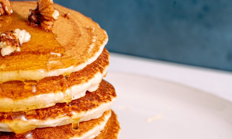 pancake miele e noci