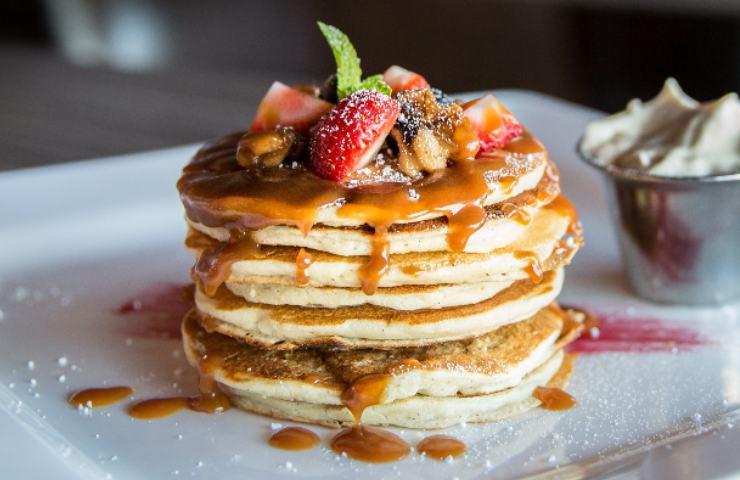 pancakes alla farina d'avena ricetta