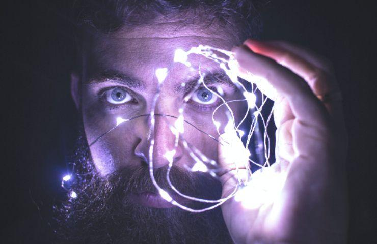 Uomo illuminato