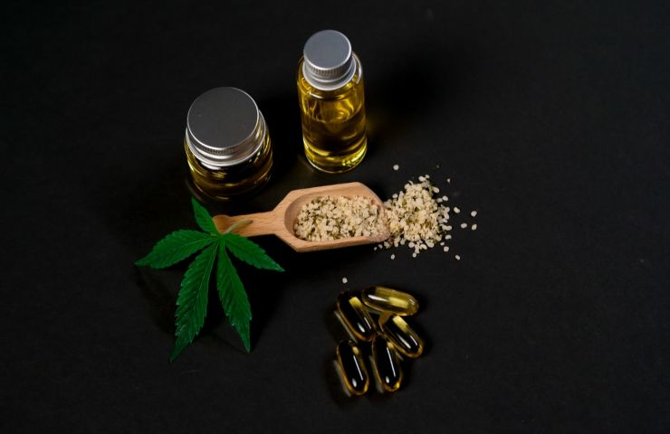 olio di semi di canapa canapa