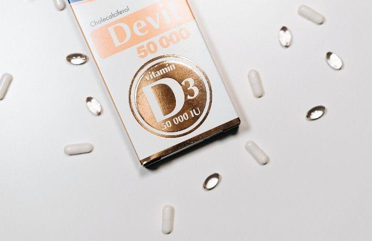 Vitamina D, farmaco in scatola